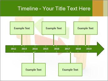 Exchange between two 3d men PowerPoint Templates - Slide 28