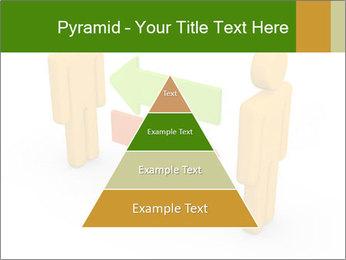 Exchange between two 3d men PowerPoint Templates - Slide 30