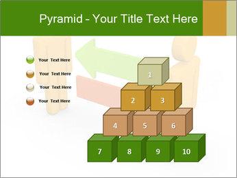 Exchange between two 3d men PowerPoint Templates - Slide 31