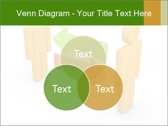 Exchange between two 3d men PowerPoint Templates - Slide 33