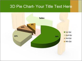 Exchange between two 3d men PowerPoint Templates - Slide 35