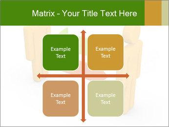 Exchange between two 3d men PowerPoint Templates - Slide 37