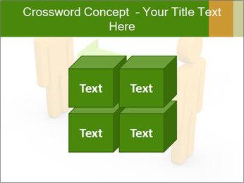 Exchange between two 3d men PowerPoint Templates - Slide 39
