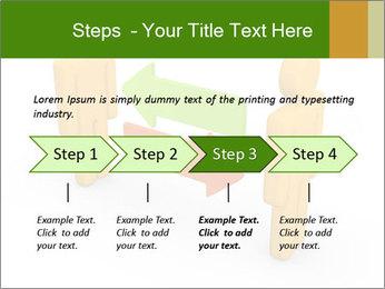 Exchange between two 3d men PowerPoint Templates - Slide 4