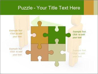 Exchange between two 3d men PowerPoint Templates - Slide 43