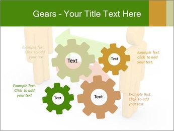 Exchange between two 3d men PowerPoint Templates - Slide 47