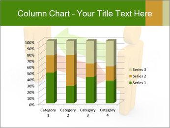 Exchange between two 3d men PowerPoint Templates - Slide 50