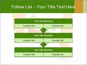 Exchange between two 3d men PowerPoint Templates - Slide 60