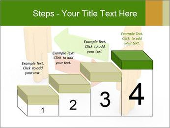 Exchange between two 3d men PowerPoint Templates - Slide 64