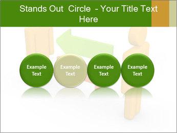 Exchange between two 3d men PowerPoint Templates - Slide 76