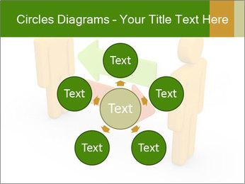 Exchange between two 3d men PowerPoint Templates - Slide 78