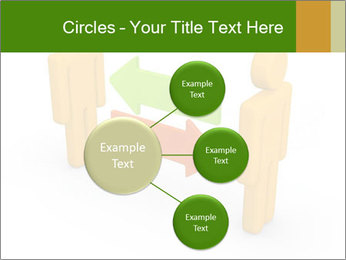 Exchange between two 3d men PowerPoint Templates - Slide 79