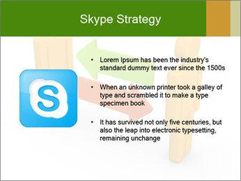 Exchange between two 3d men PowerPoint Templates - Slide 8