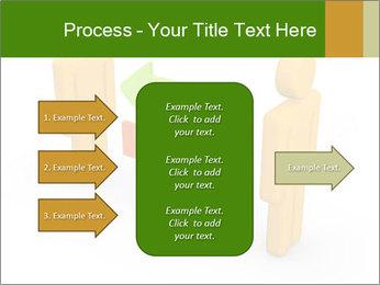 Exchange between two 3d men PowerPoint Templates - Slide 85