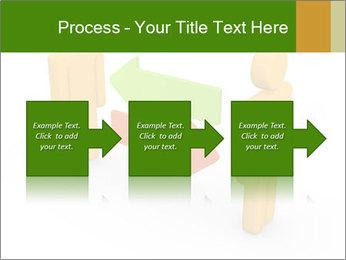 Exchange between two 3d men PowerPoint Templates - Slide 88