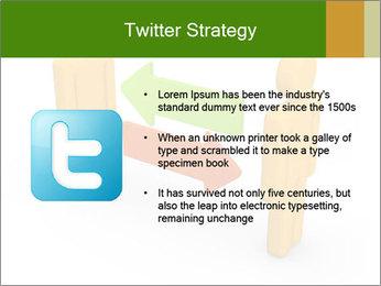 Exchange between two 3d men PowerPoint Templates - Slide 9