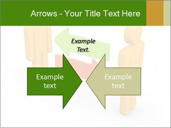 Exchange between two 3d men PowerPoint Templates - Slide 90