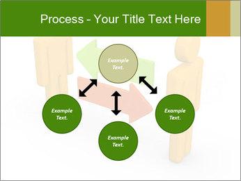 Exchange between two 3d men PowerPoint Templates - Slide 91