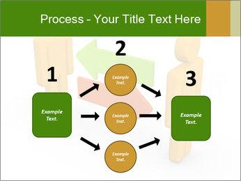 Exchange between two 3d men PowerPoint Templates - Slide 92