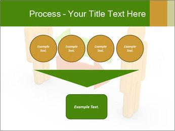 Exchange between two 3d men PowerPoint Templates - Slide 93