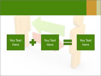 Exchange between two 3d men PowerPoint Templates - Slide 95