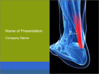 3d rendered PowerPoint Template - Slide 1