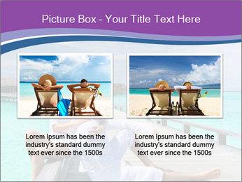 Couple on a tropical beach PowerPoint Templates - Slide 18