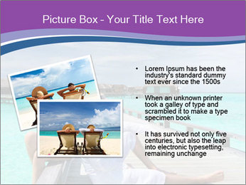 Couple on a tropical beach PowerPoint Templates - Slide 20