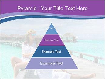 Couple on a tropical beach PowerPoint Templates - Slide 30