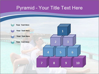 Couple on a tropical beach PowerPoint Templates - Slide 31