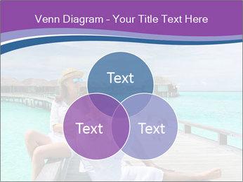 Couple on a tropical beach PowerPoint Templates - Slide 33