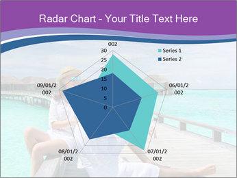 Couple on a tropical beach PowerPoint Templates - Slide 51