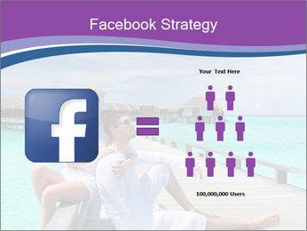 Couple on a tropical beach PowerPoint Templates - Slide 7