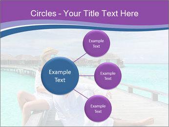 Couple on a tropical beach PowerPoint Templates - Slide 79