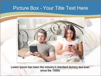 Portrait of couple sleeping PowerPoint Templates - Slide 16