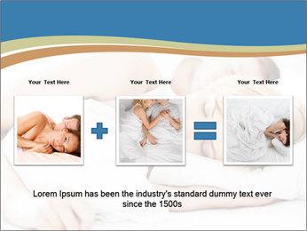 Portrait of couple sleeping PowerPoint Templates - Slide 22