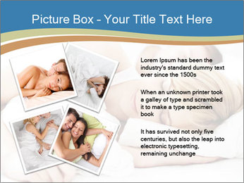 Portrait of couple sleeping PowerPoint Templates - Slide 23