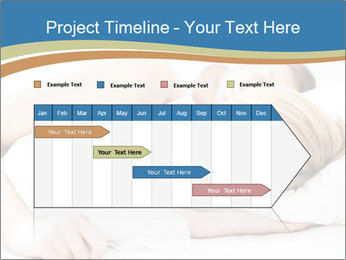 Portrait of couple sleeping PowerPoint Template - Slide 25