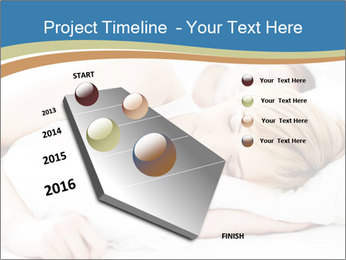 Portrait of couple sleeping PowerPoint Templates - Slide 26
