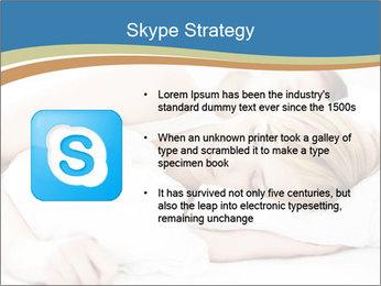Portrait of couple sleeping PowerPoint Templates - Slide 8