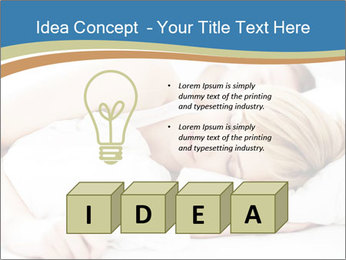 Portrait of couple sleeping PowerPoint Templates - Slide 80