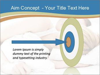 Portrait of couple sleeping PowerPoint Templates - Slide 83