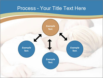 Portrait of couple sleeping PowerPoint Template - Slide 91