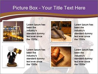 Golden color pure breed vizsla dog PowerPoint Template - Slide 14