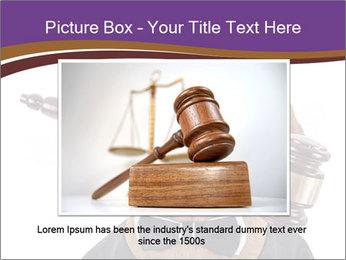 Golden color pure breed vizsla dog PowerPoint Template - Slide 15