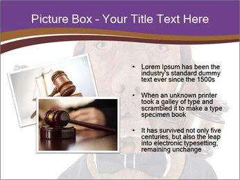 Golden color pure breed vizsla dog PowerPoint Template - Slide 20