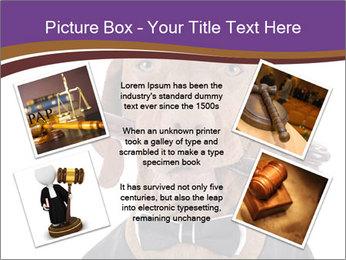 Golden color pure breed vizsla dog PowerPoint Template - Slide 24