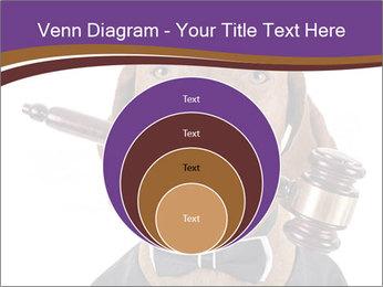 Golden color pure breed vizsla dog PowerPoint Template - Slide 34