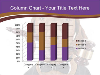 Golden color pure breed vizsla dog PowerPoint Template - Slide 50