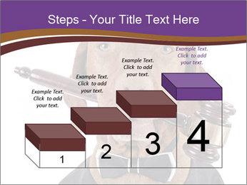 Golden color pure breed vizsla dog PowerPoint Template - Slide 64